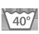 Maschinenwäsche bei 40 Grad