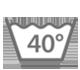 Maschinenwäsche bei 40 Grad Schonwaschgang